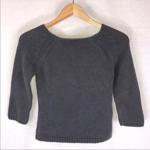 GAP 3/4 Sleeve Knit Sweater Size X-Small